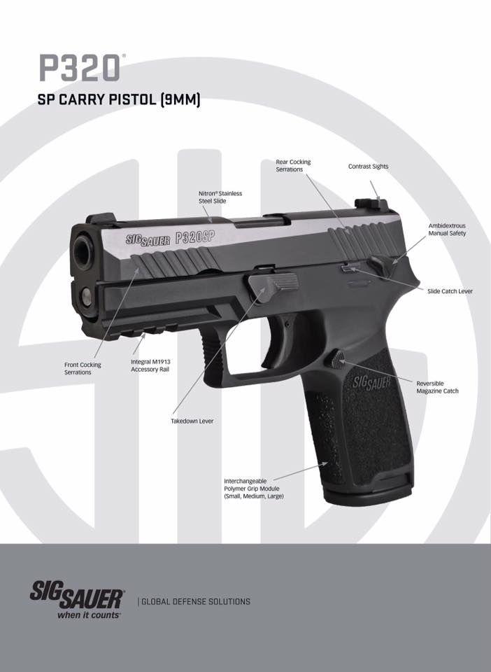 Sig P320 Parts Diagram