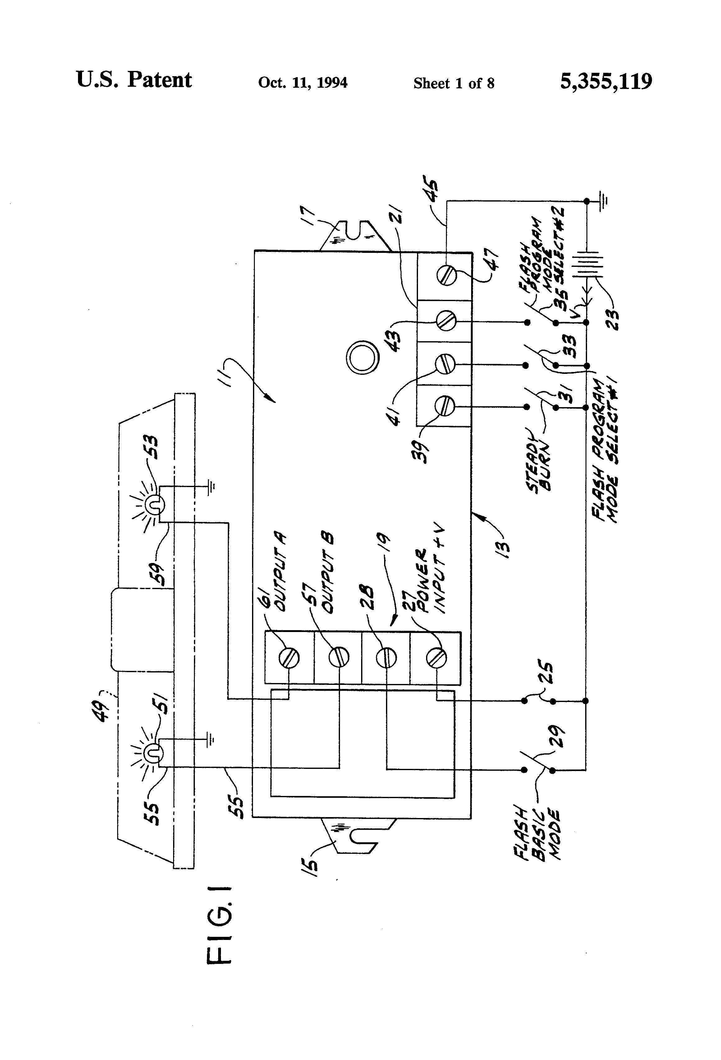 Signal Dynamics Headlight Strobe Wiring Diagram
