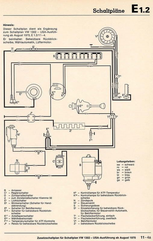 Simple Wiring Diagram Vw Dune Buggy