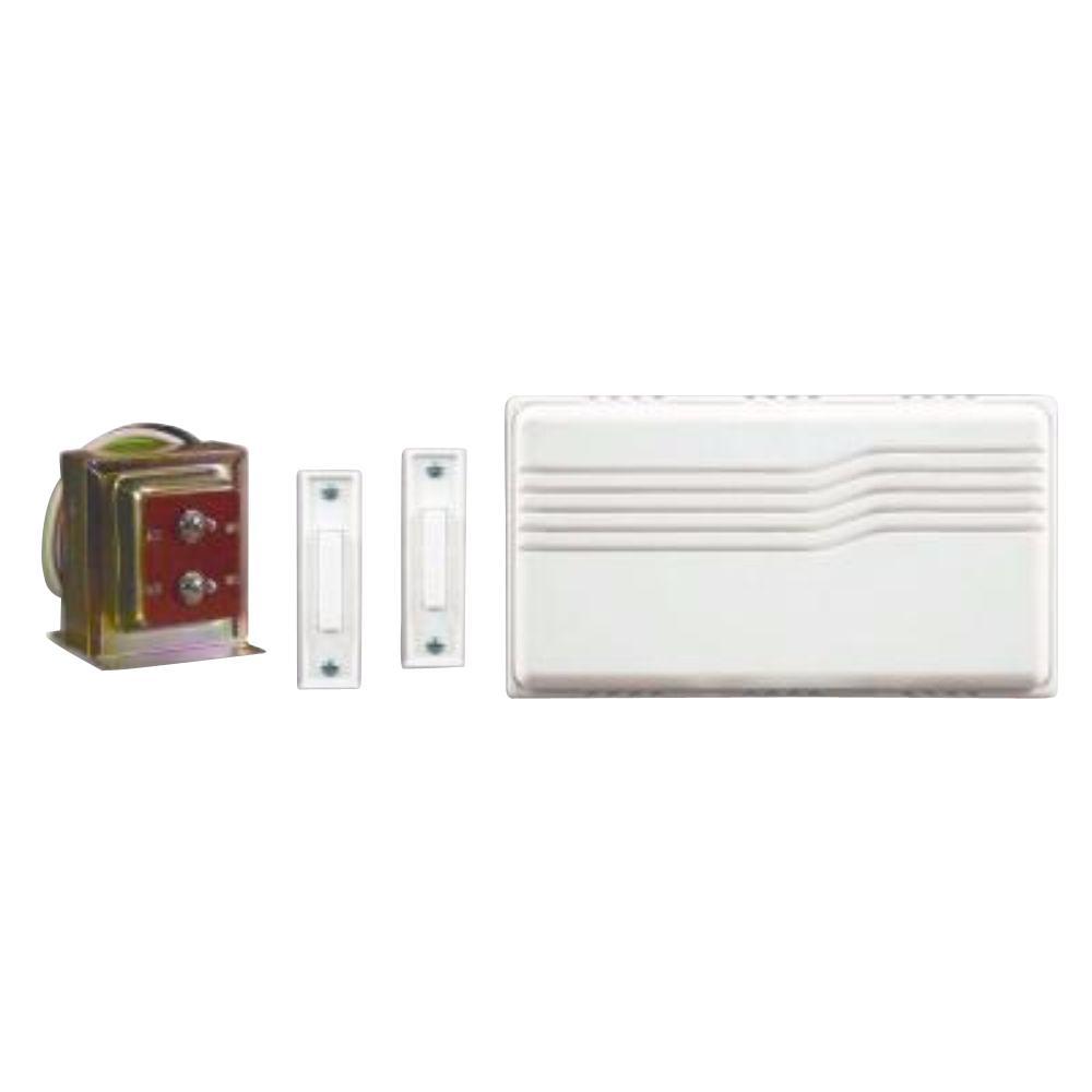 Single Button Doorbell Wiring Diagram