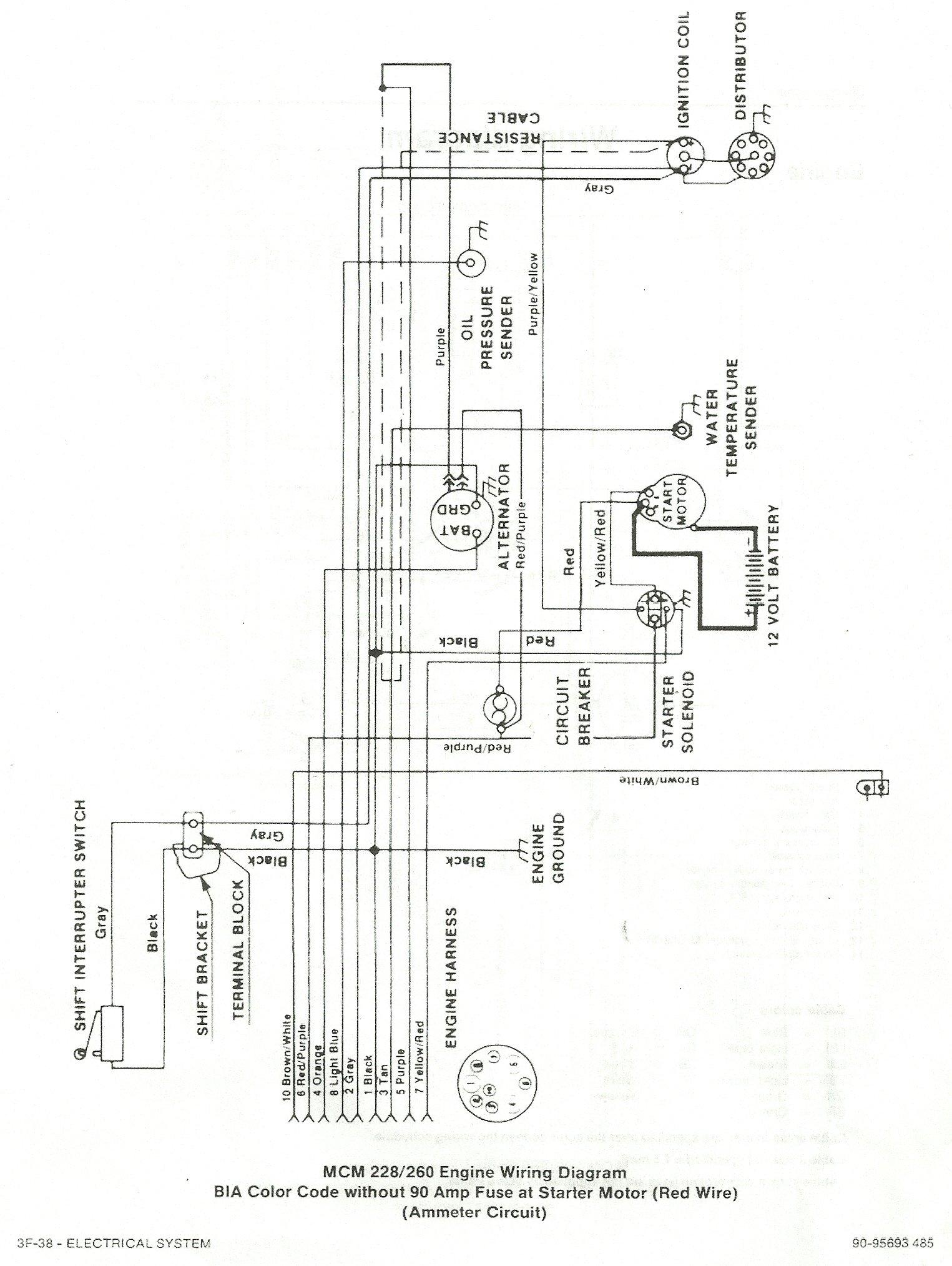 Skiffcraft Mercruiser 470 Wiring Diagram