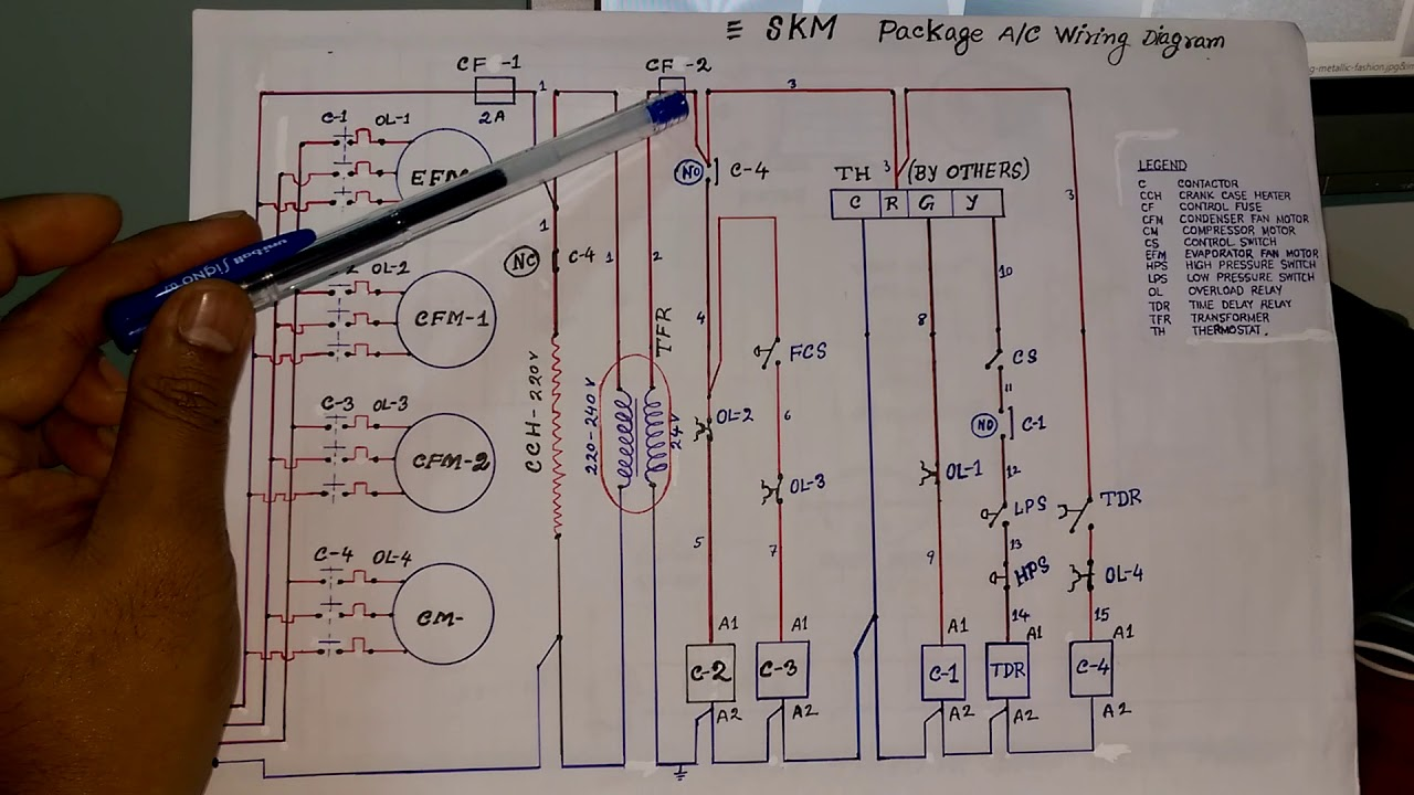 Skm Chiller Wiring Diagram