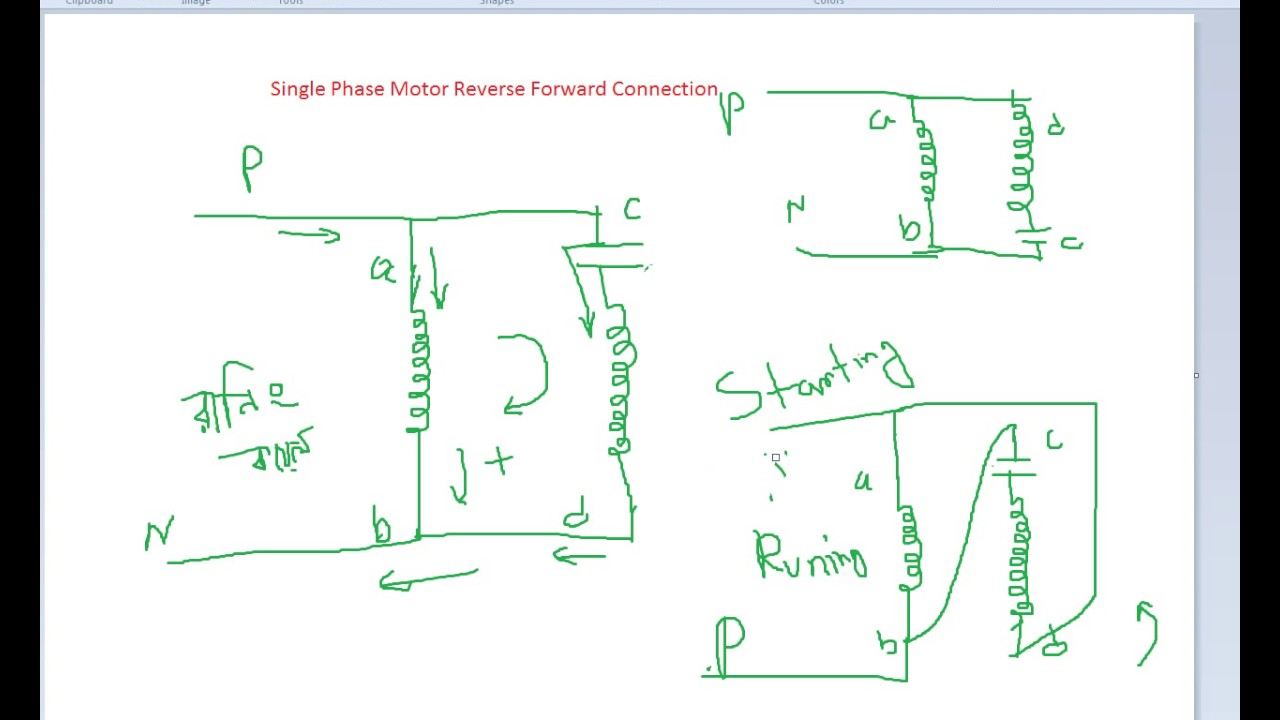 Skyey Motor Wiring Diagram On The Drum Switch Forward And Reverse 1 Phase