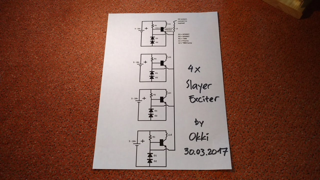 Slayer Exciter Circuit Diagram