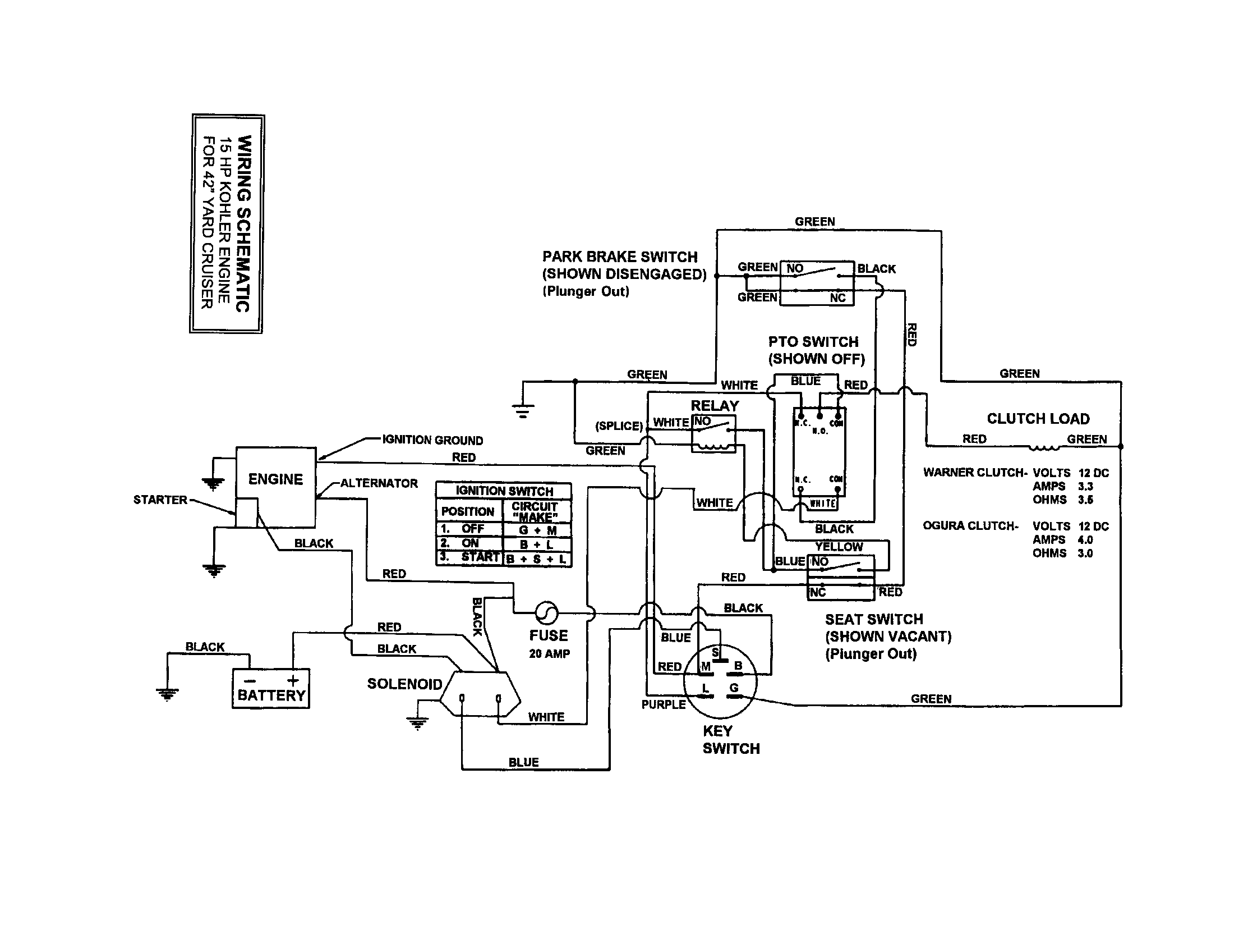 Snapper Model Lt 12502 Wiring Diagram