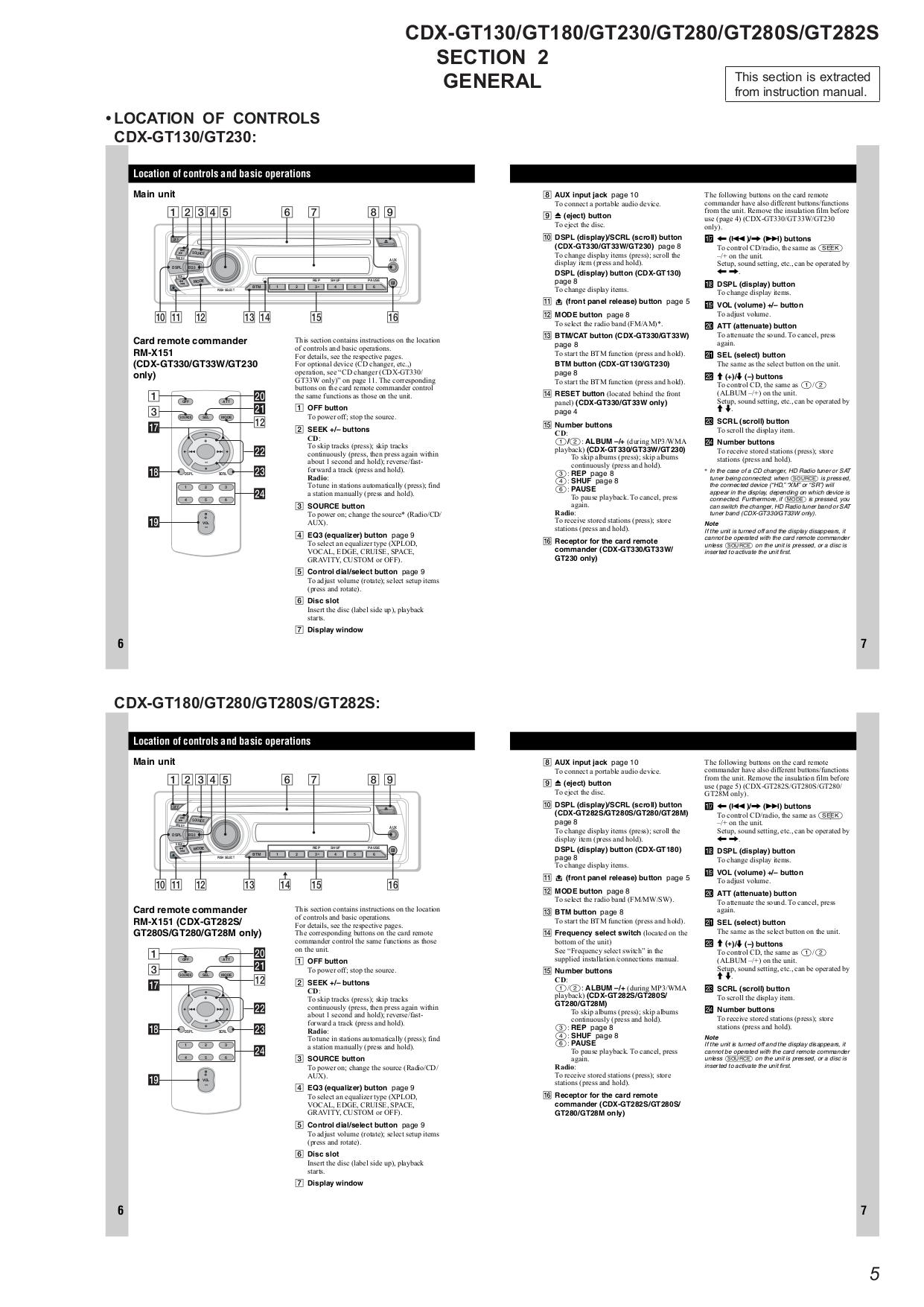 Sony Cdx Gt550ui Wiring Diagram