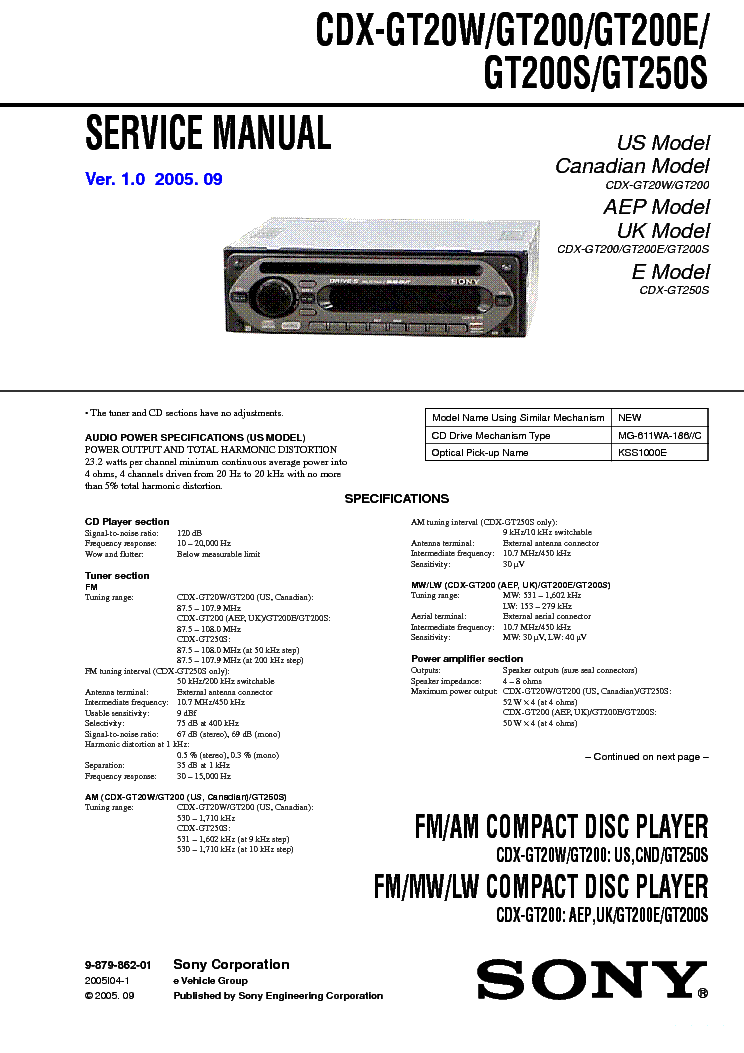 Cdx Gt07 Wiring Diagram. sony faceplate cd player cdx gt wiring diagram  database. sony cdx f7700 cd receiver cdxf7700 youtube. sony cdx gt07 car  stereo cdxgt07 youtube. sony cdx m8805x wiring diagram.A.2002-acura-tl-radio.info. All Rights Reserved.