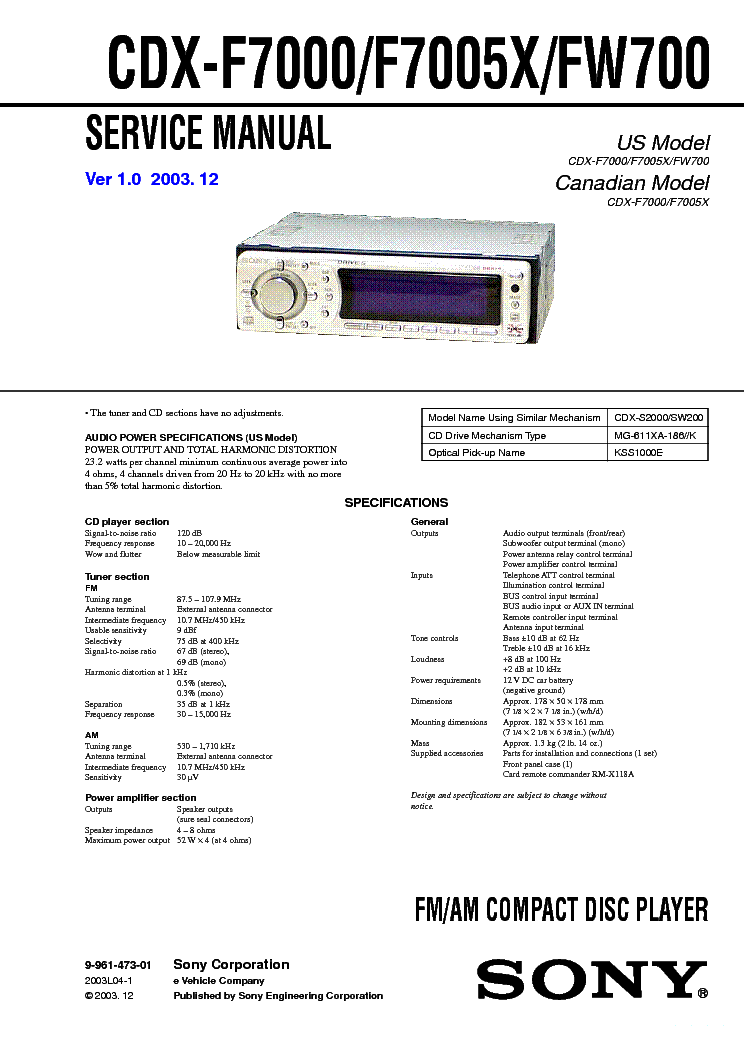 Wiring Diagram For Sony Cdx Gt66upw Get Free Image About Wiring