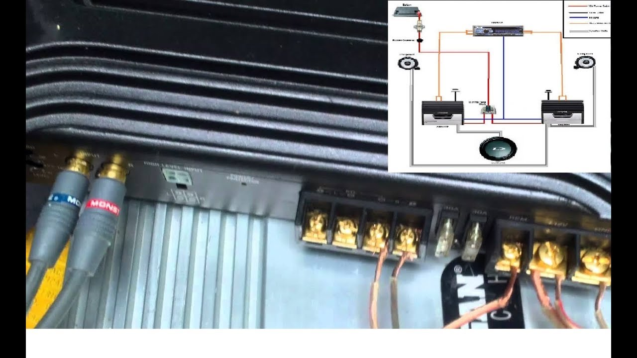 Sony Xplod 1000 Watt Amp Wiring Diagram