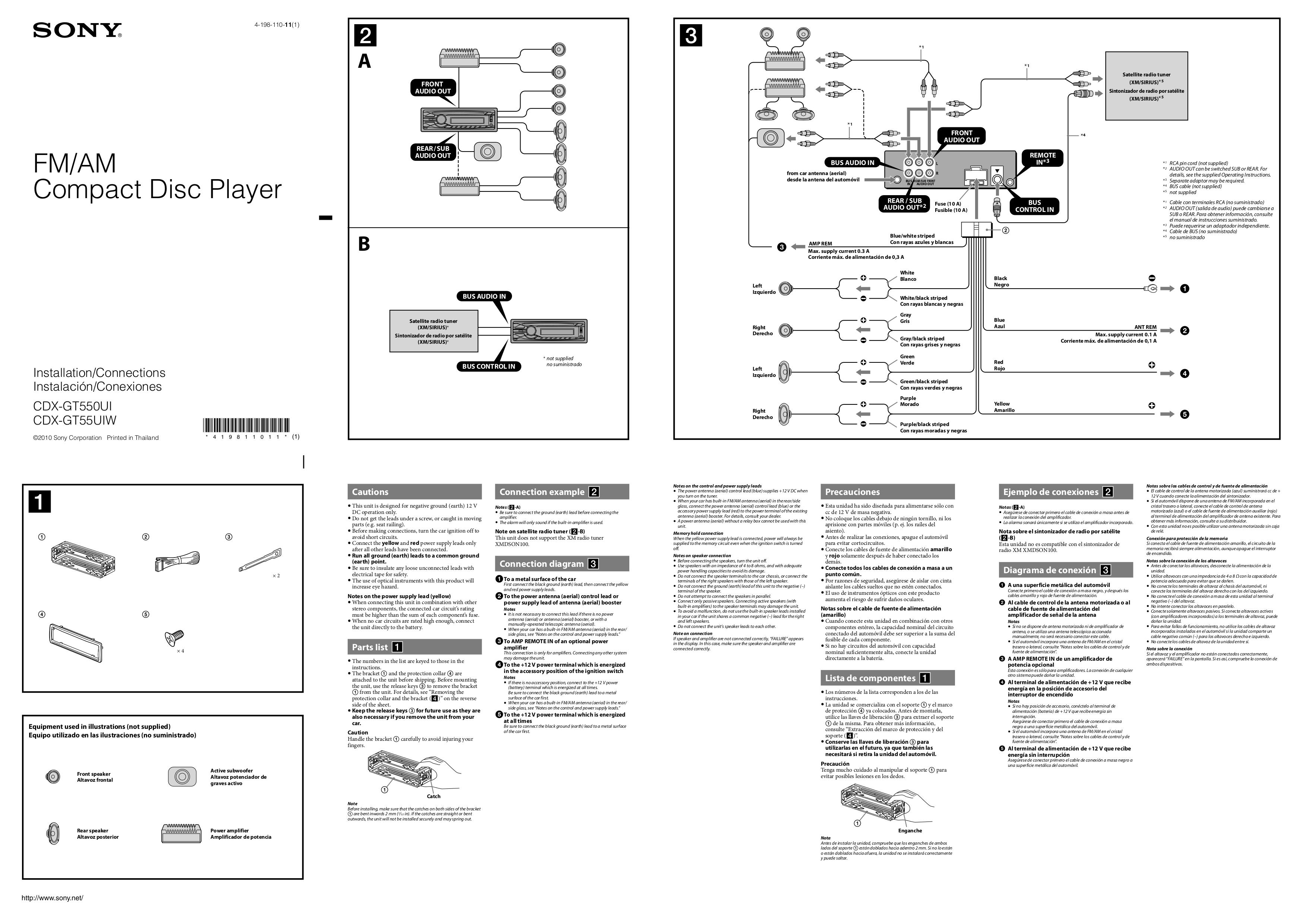 Sony Cdx Gt24W Wiring Diagram from schematron.org