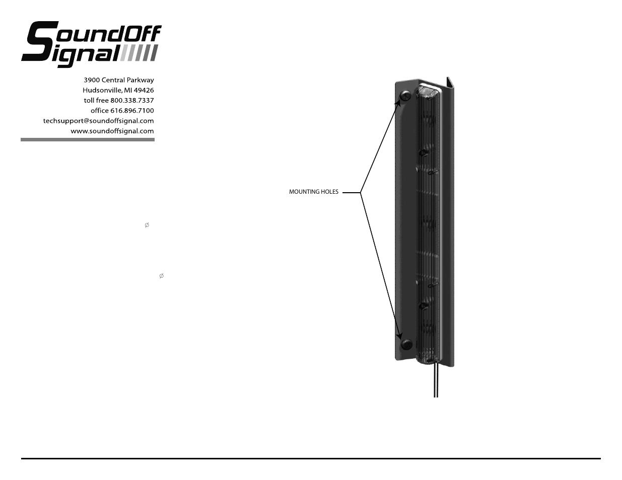 Soundoff Signal Etsa380mf Wiring Diagram