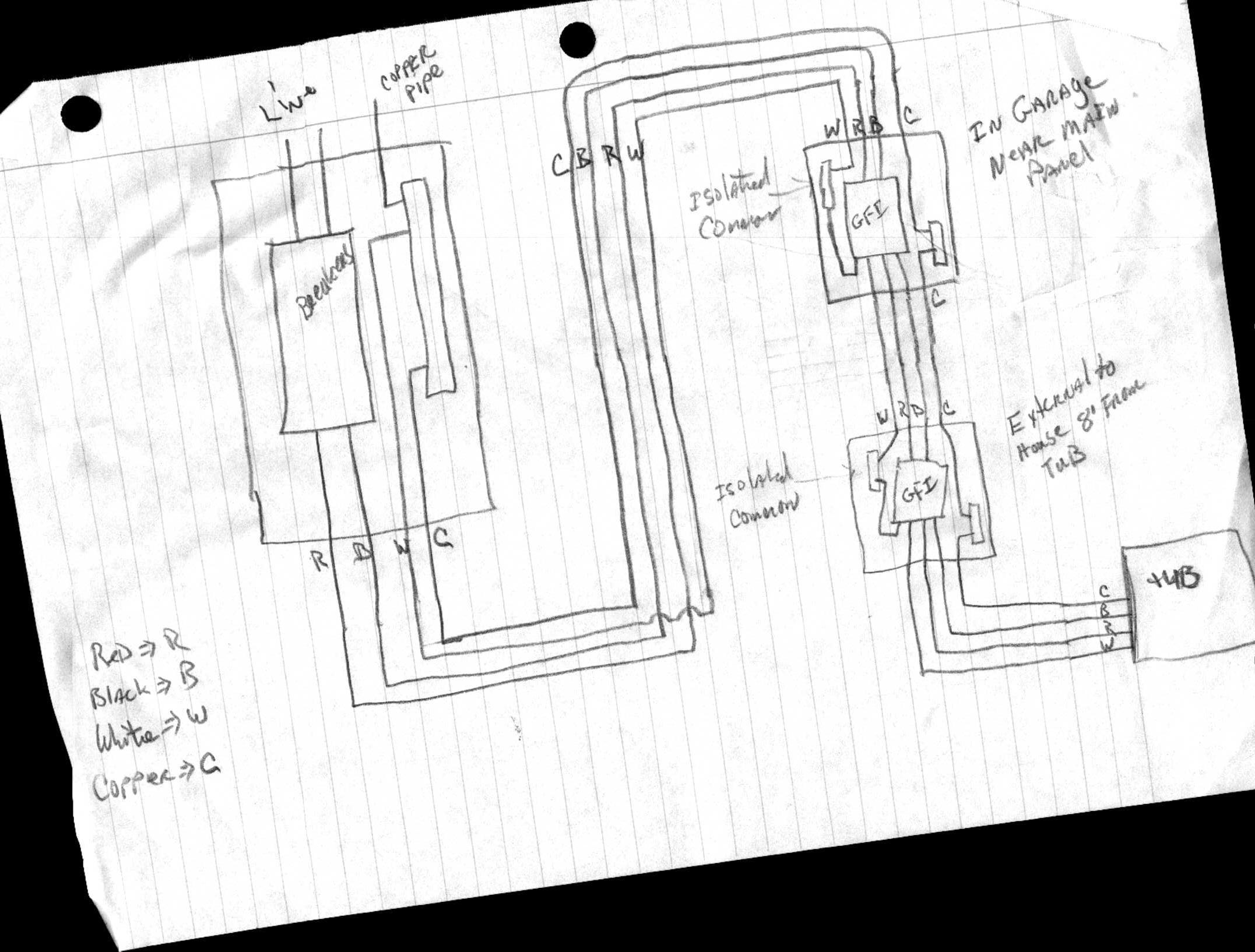 spa-gfci-wiring-diagram-2  Pole Ground Fault Breaker Wiring Diagram on