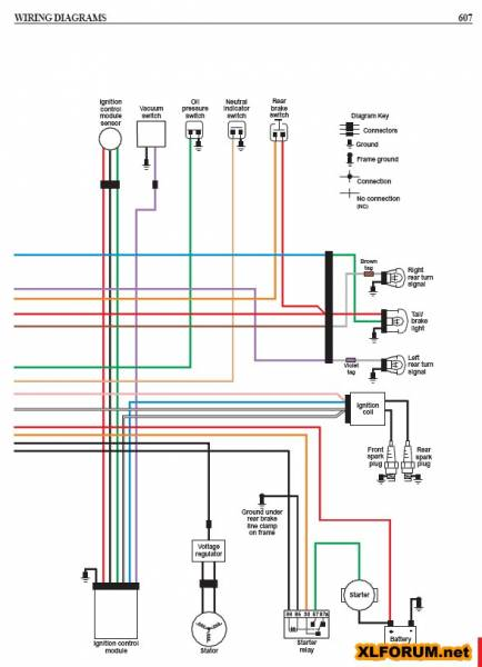 Sportster Speedometer Wiring Diagram