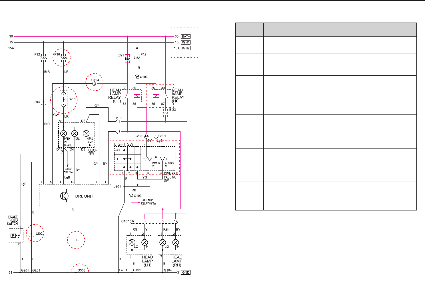 Ssangyong Musso Wiring Diagram