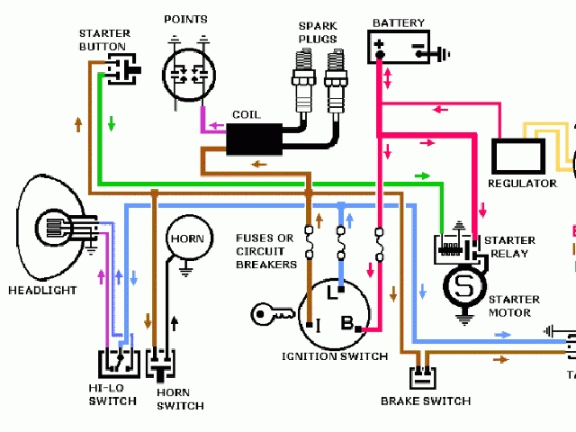 Starter Relay Wiring Diagram Harley 03 Road Glide