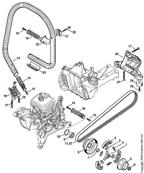 Stihl 021 Parts Diagram