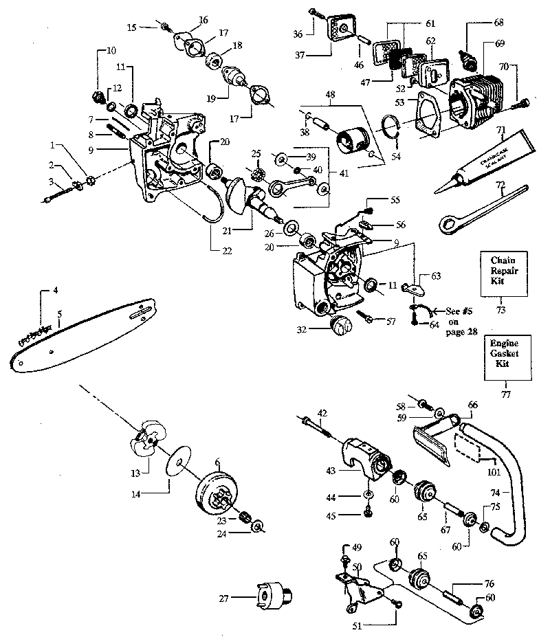 93 Marlin Glenfield Model 25 Parts Schematic Numrich Mercury