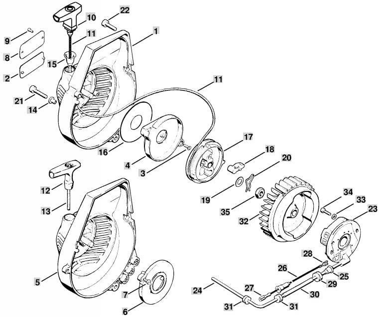 Stihl Br 350 Parts Diagram