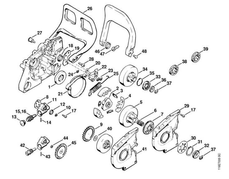 Stihl Br 430 Parts Diagram