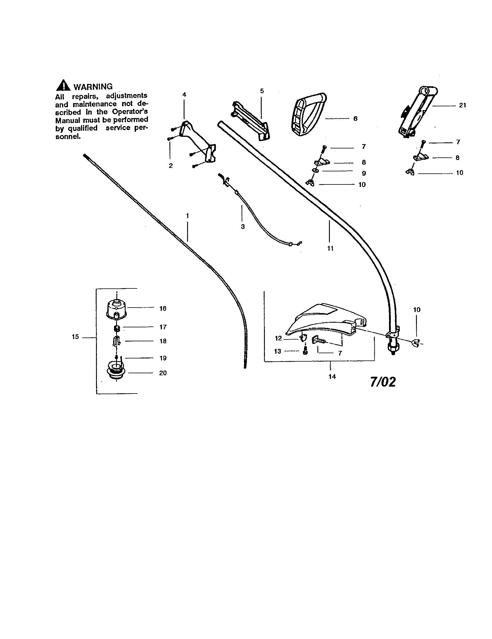 Stihl Fs130r Parts Diagram