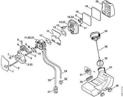 Stihl Fs55r Carburetor Diagram