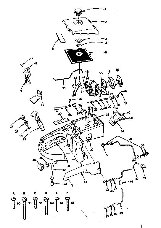 stihl fs90r parts diagram