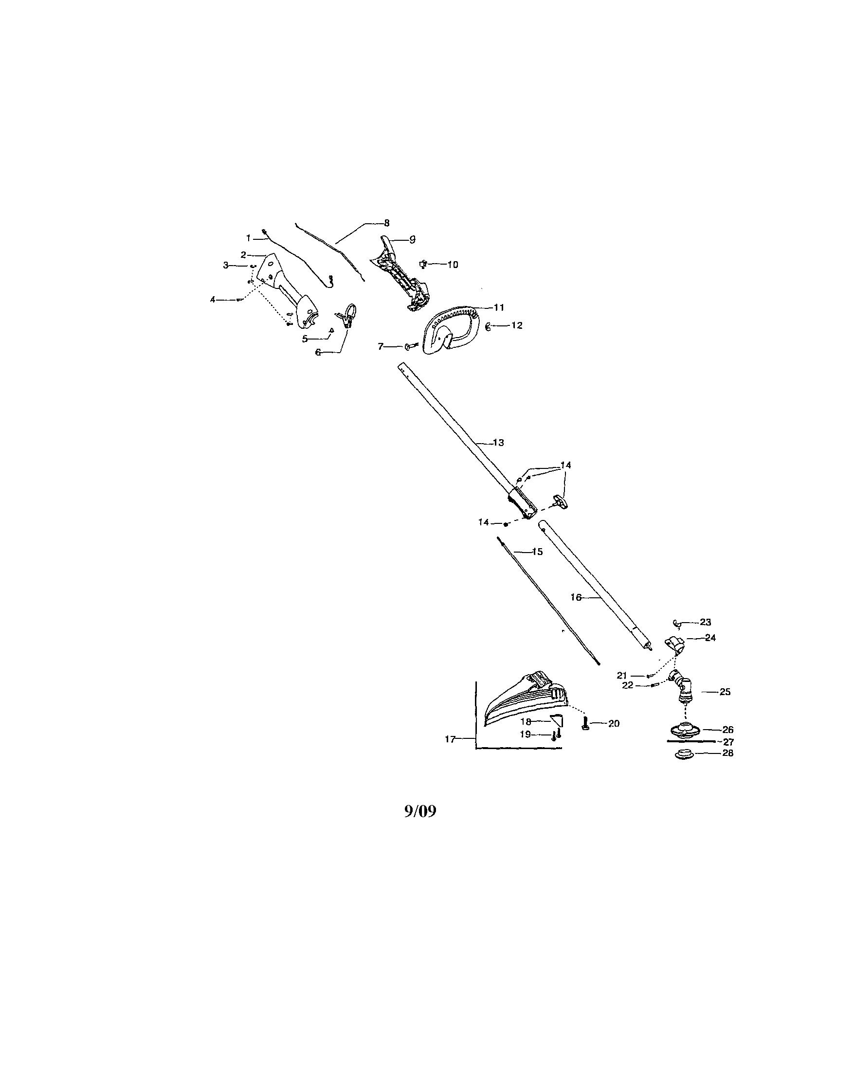 Stihl Hs56c Parts Diagram