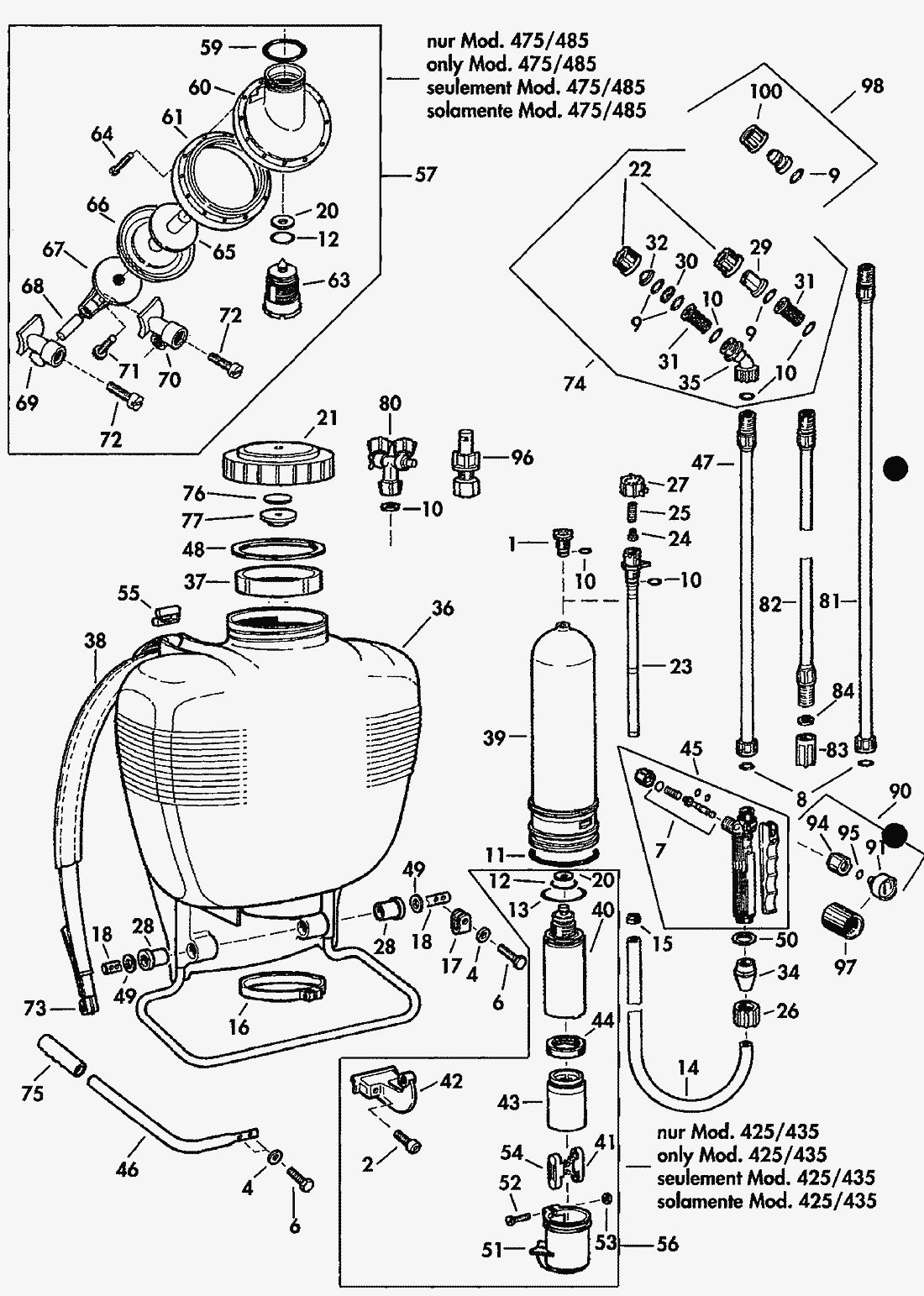 Stihl Sg20 Parts Diagram