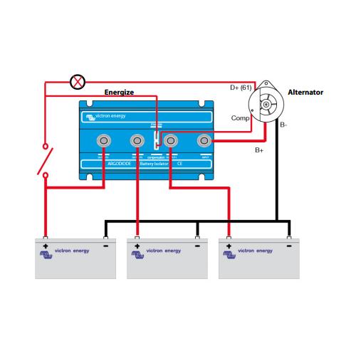 Stinger Isolator Wiring Diagram