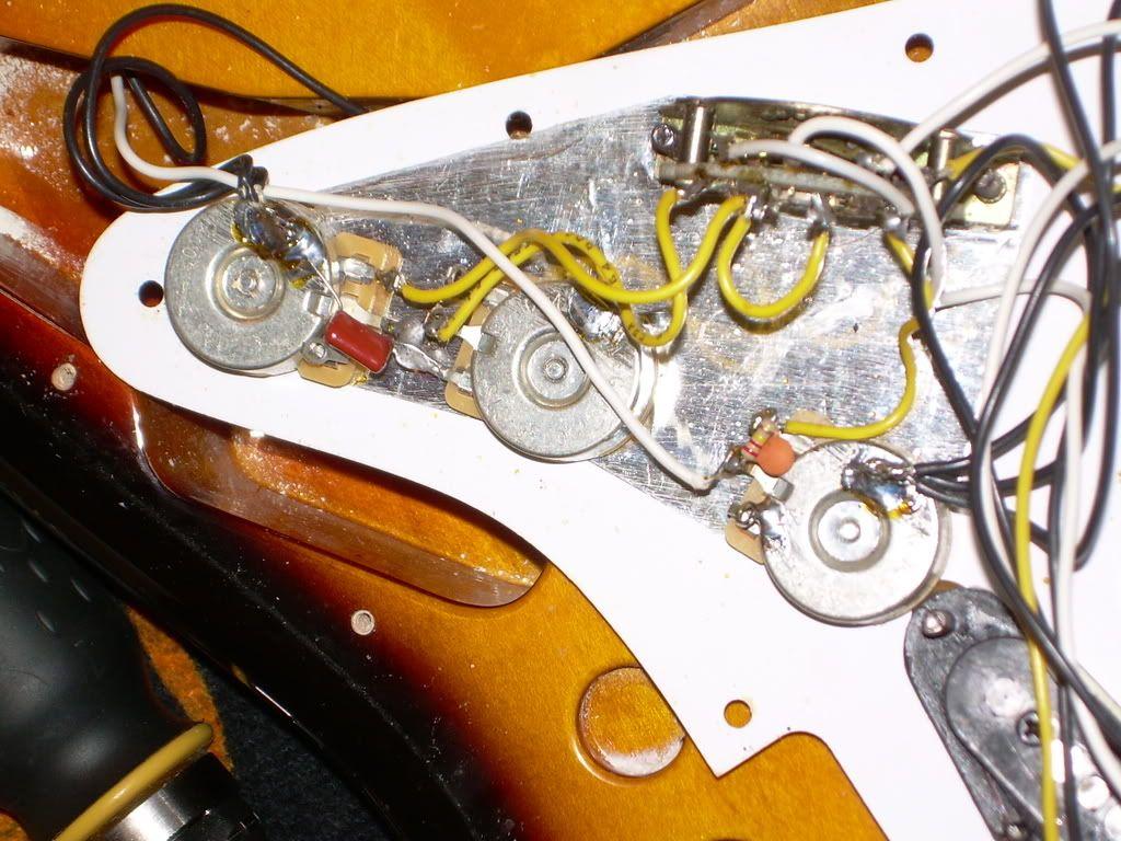 Stratocaster Vintage Noiseless Pickups Wiring Diagram