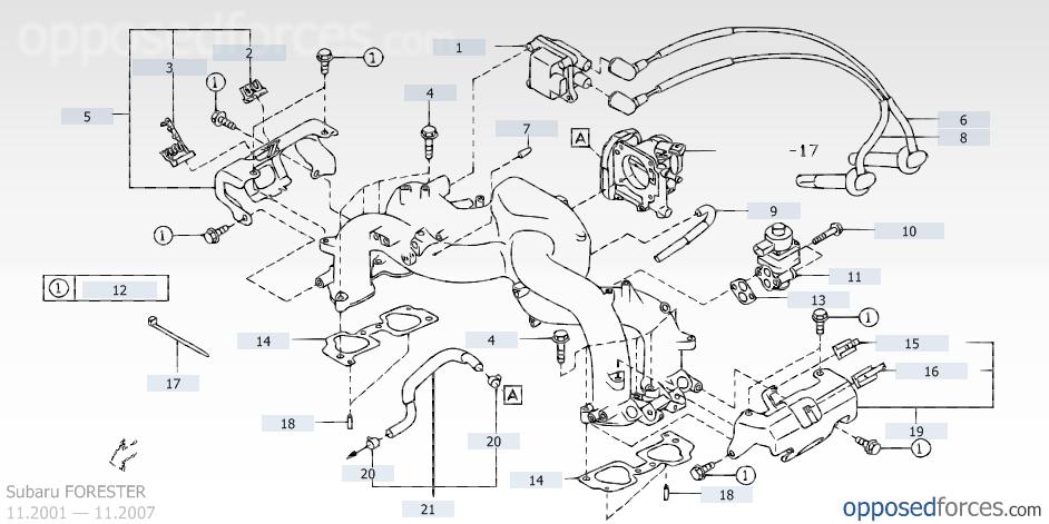 Subaru Forester Wiring Diagram 2006 Coolant Sensor