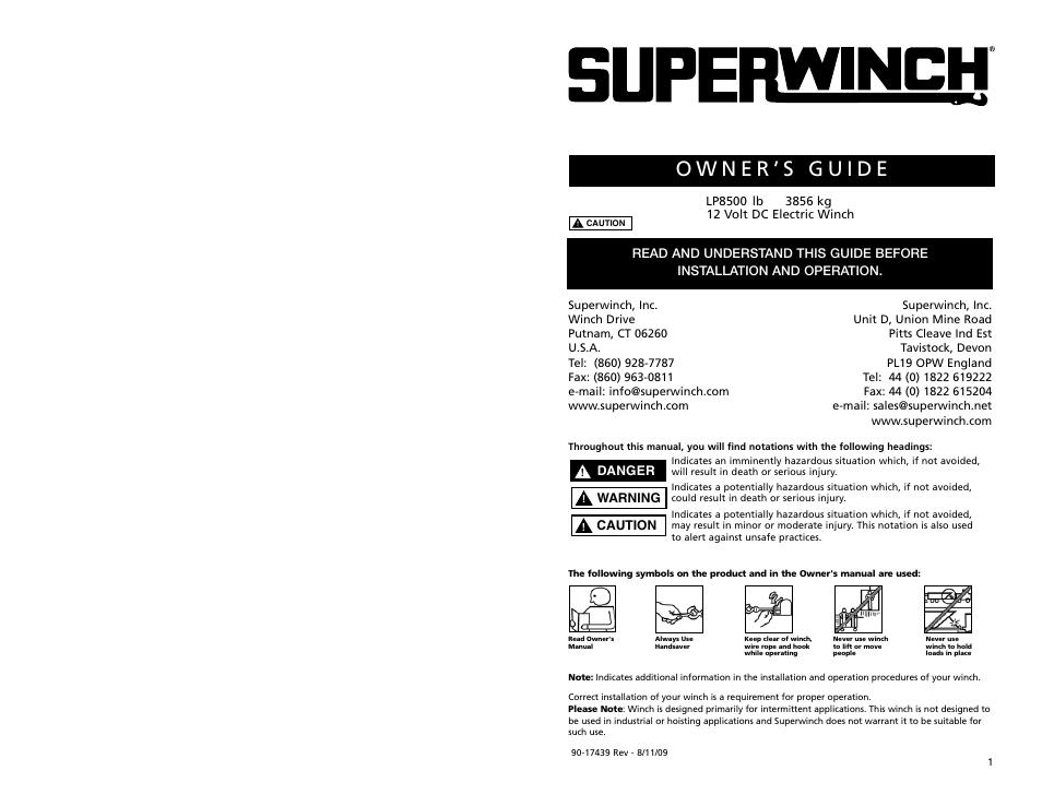 Superwinch Lt2500 Atv Winch Wiring Diagram