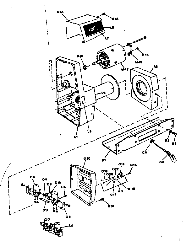 superwinch parts diagram