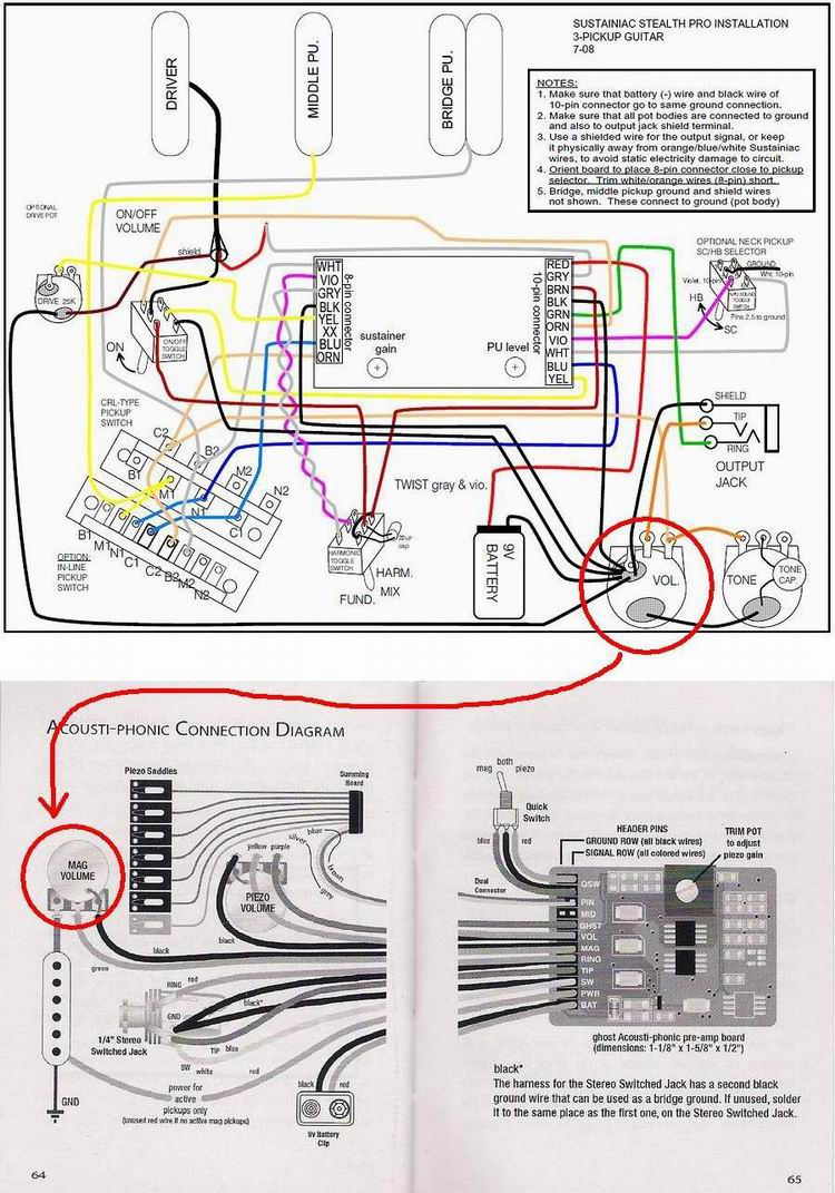 sustainiac wiring diagram Strat Wiring Diagram Strat Wiring Diagram