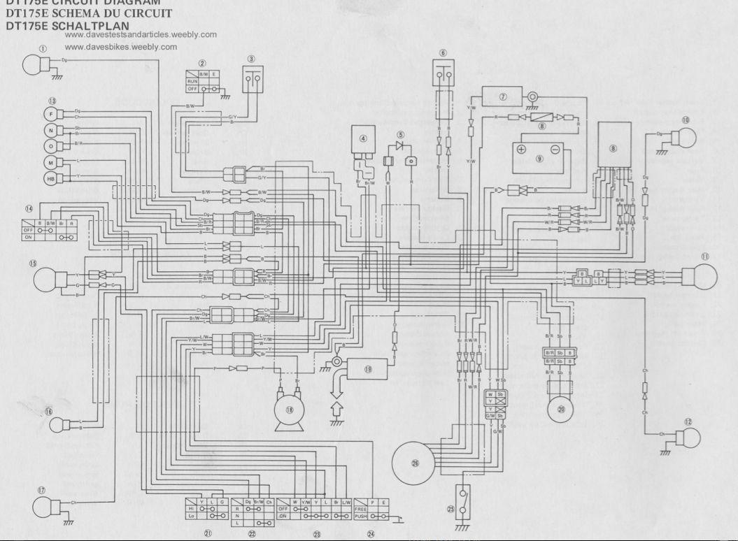 Suzuki A100 4 1978 Wiring Diagram Motorcycle Schematics 1969 70 Model Motorcycles