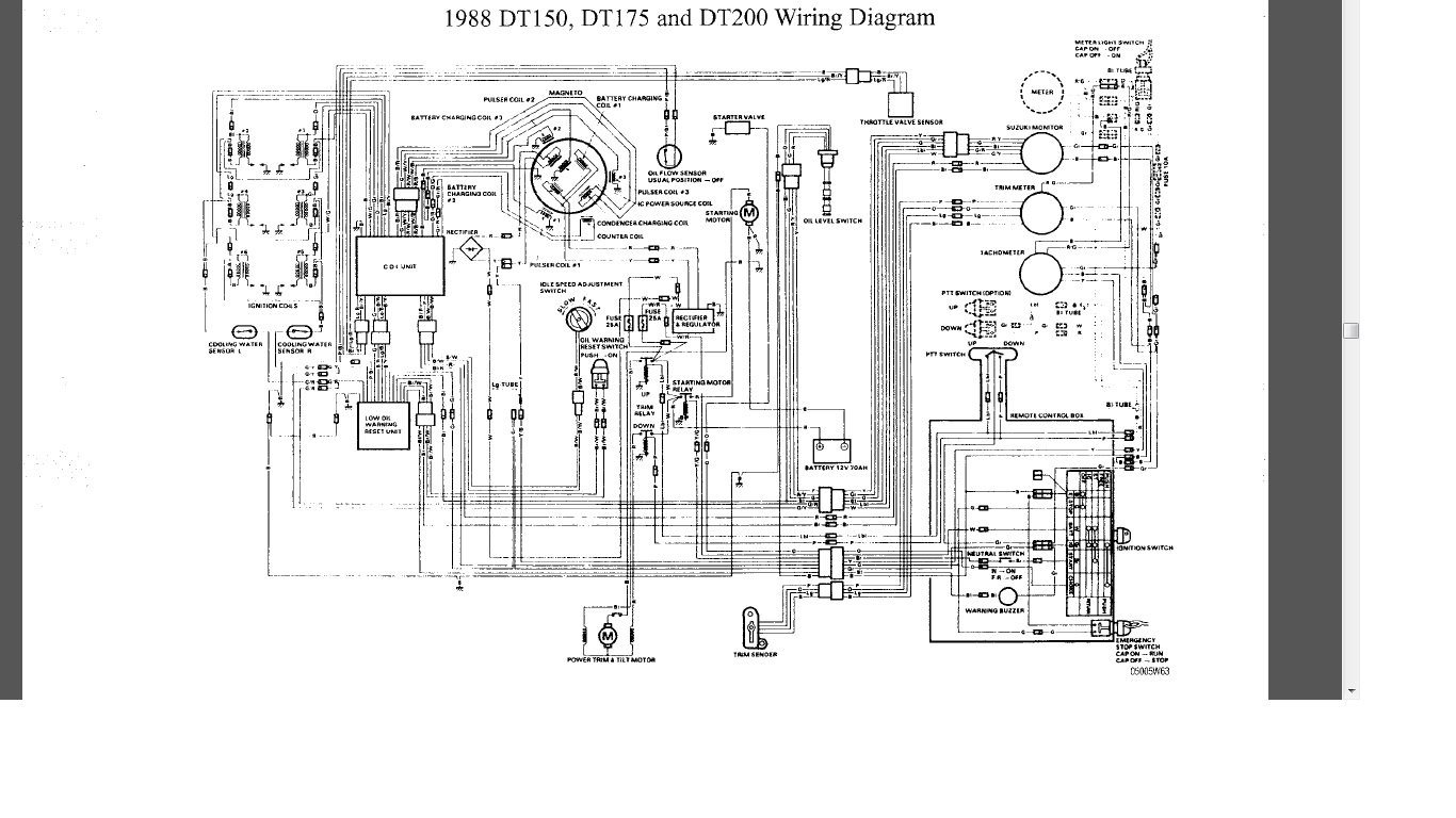 Suzuki Dt40 Outboard Ignition Switch Wiring Diagram