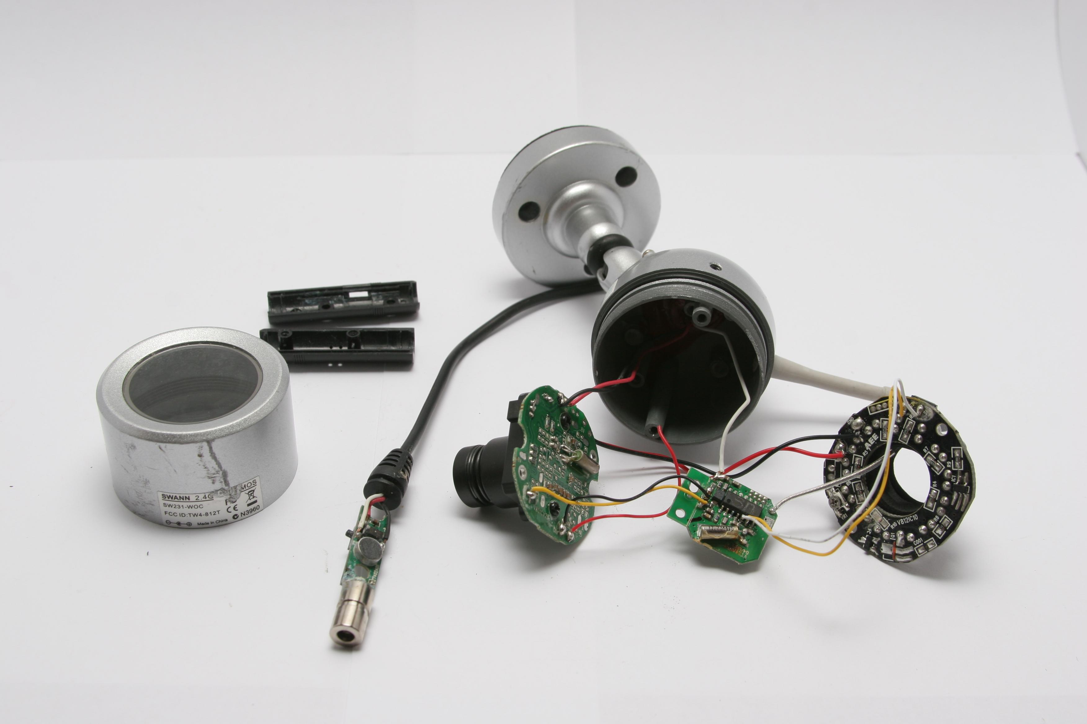 Swann Security Camera Wiring Diagram on