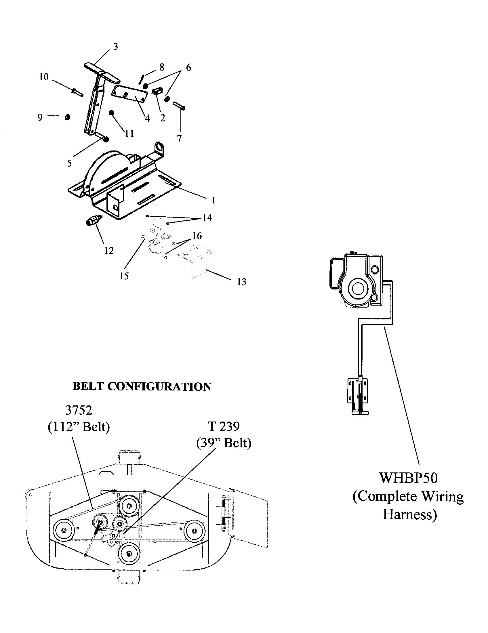 Swisher Pull Behind Mower Belt Diagram