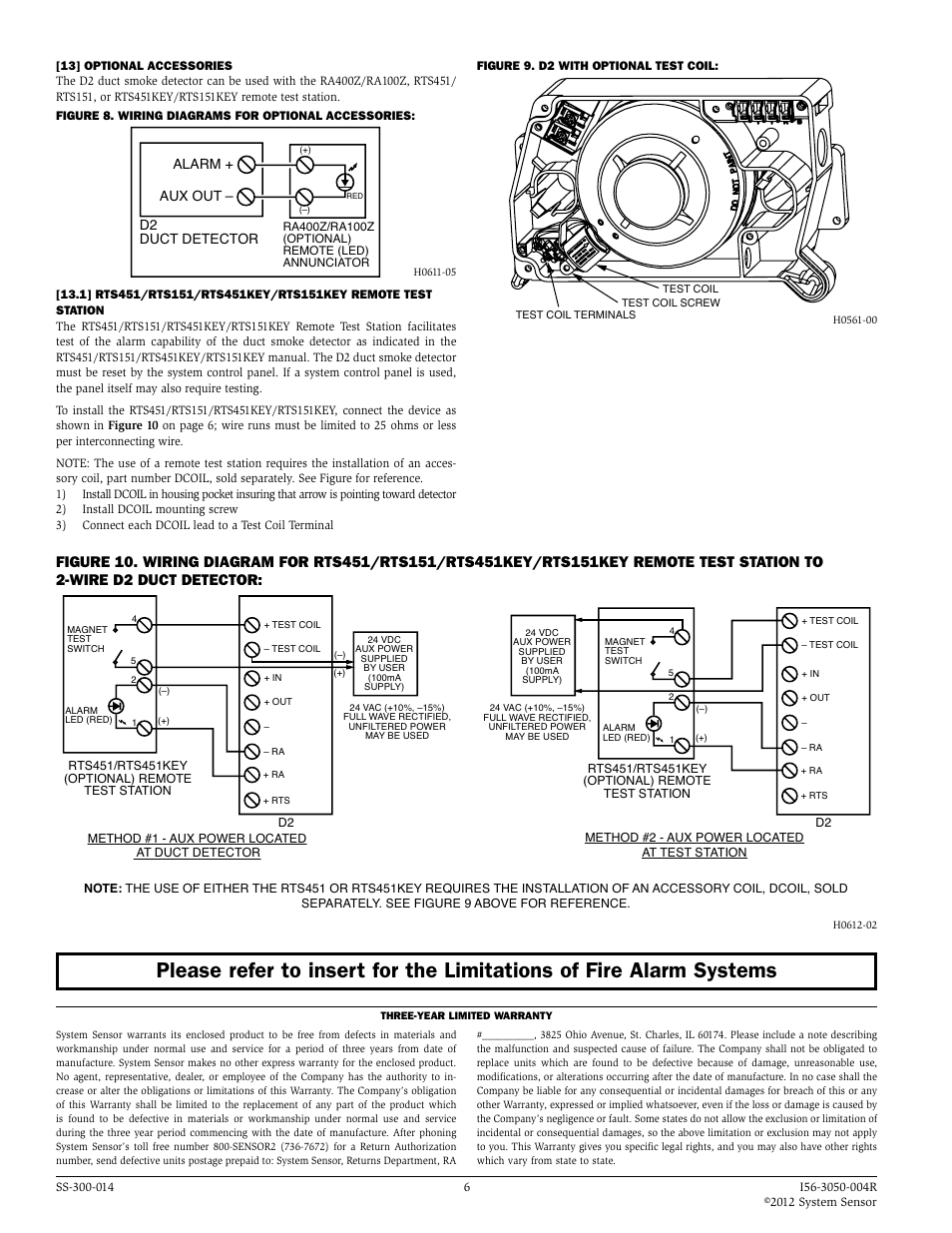 System Sensor Duct Detector Dh400acdc Wiring Diagram on