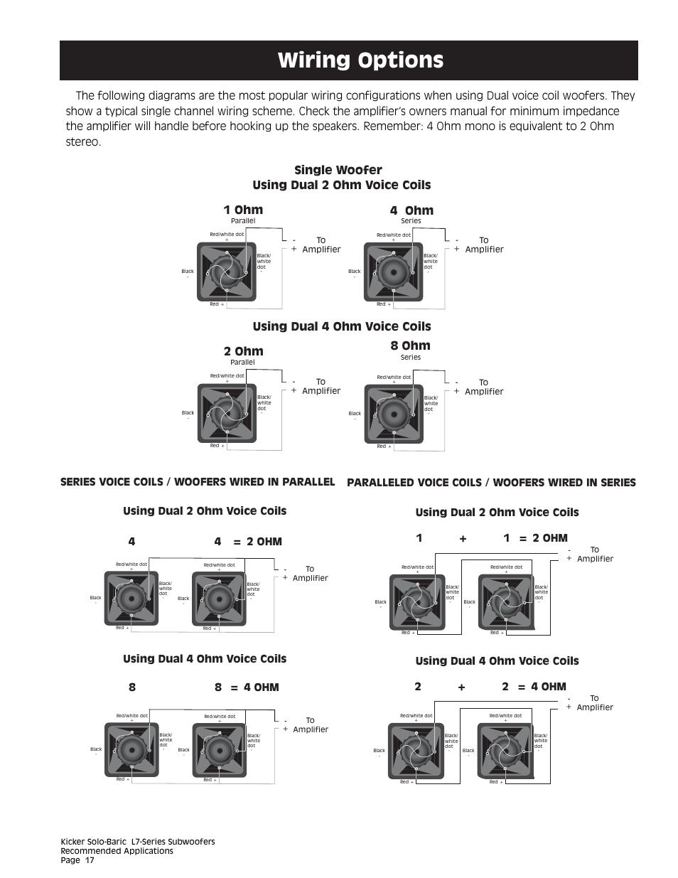 Dual 1 Ohm Wiring Diagram from schematron.org