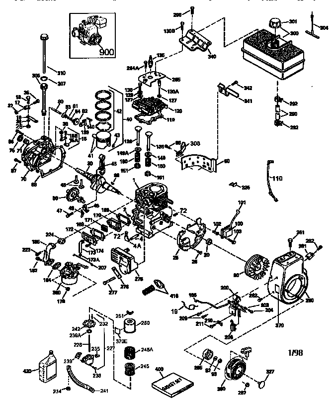 Tecumseh Hm80 Carburetor Diagram