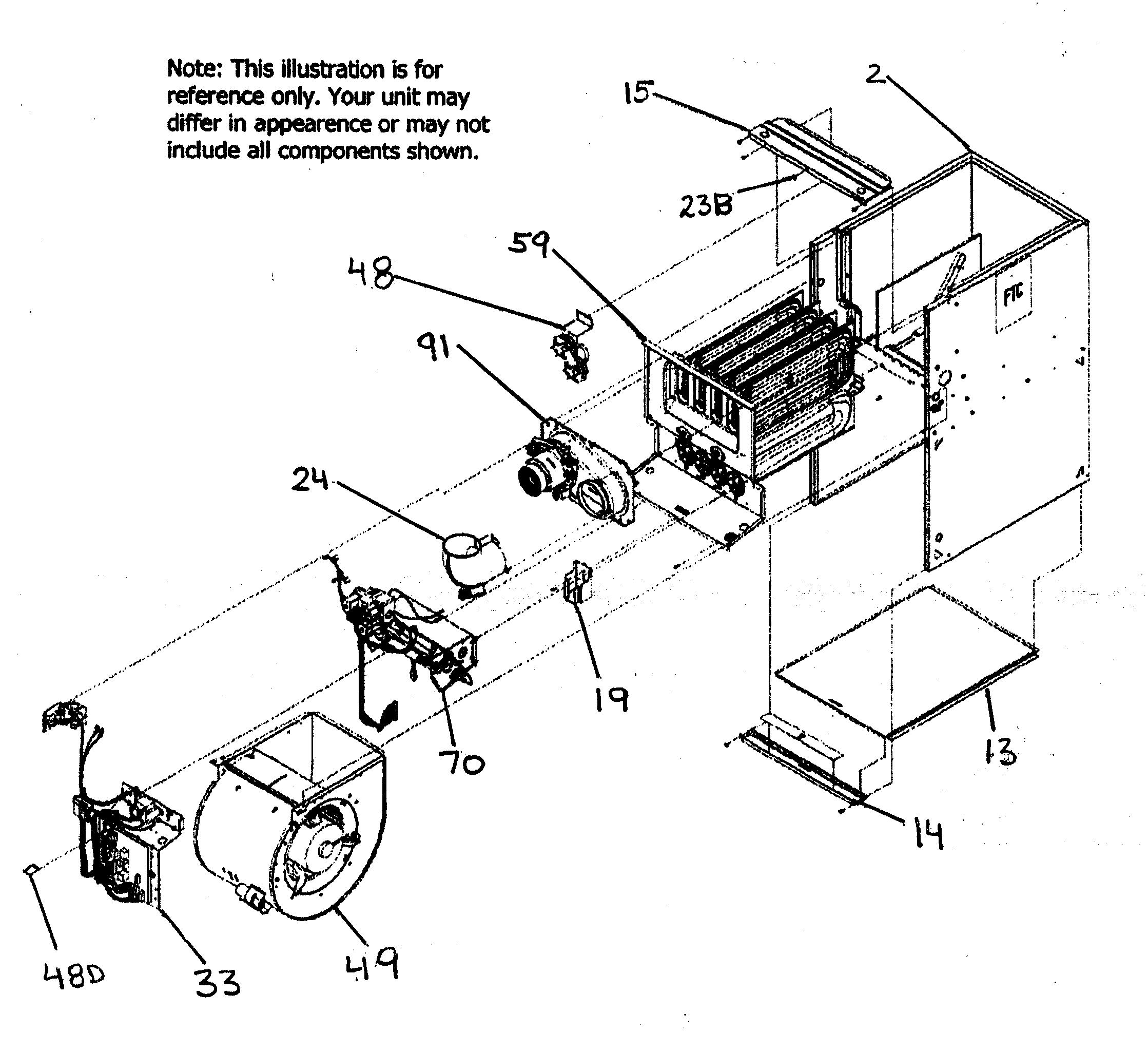 tempstar furnace parts diagram