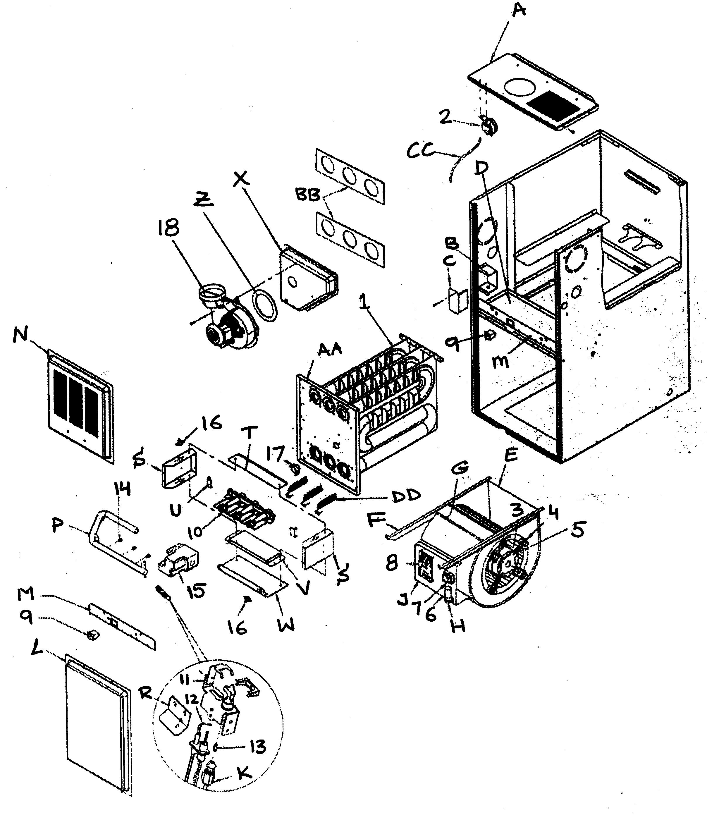 Tempstar Indoor Blower Motor Wiring Diagram