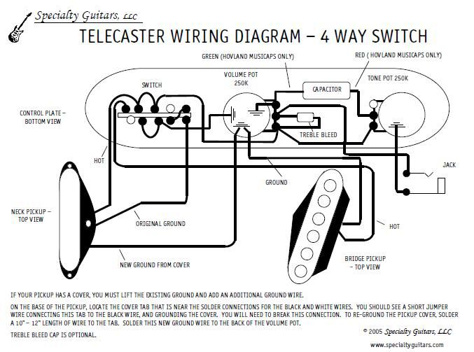 Texas Special Telecaster Pickups Wiring Diagram on