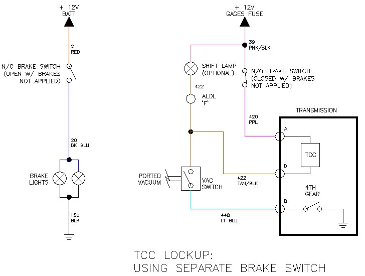 Th350 Lock Up Wiring Diagram