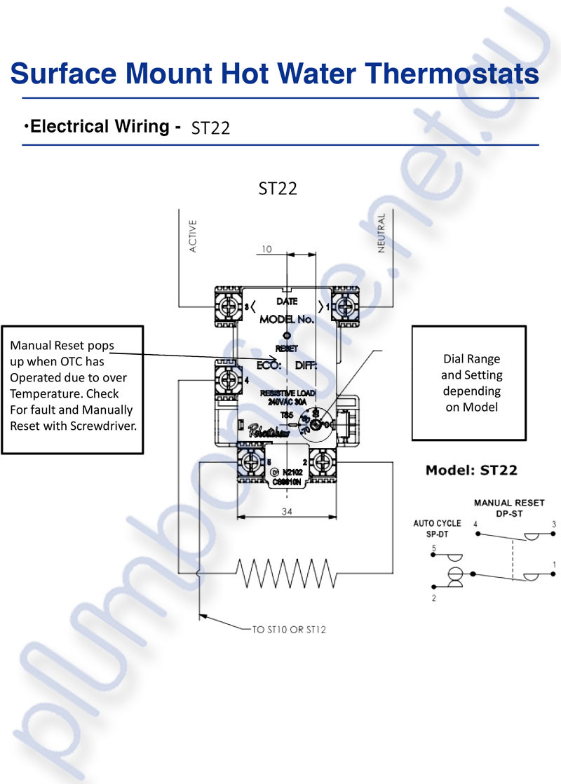 Totaline Thermostat P274 Wiring Diagram