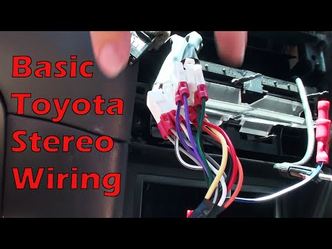 Toyota Fujitsu Ten 86120-aa040 Wiring Diagram