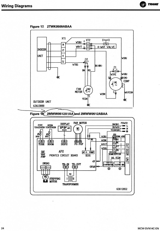Trane 4twr3048b1000a Wiring Diagram