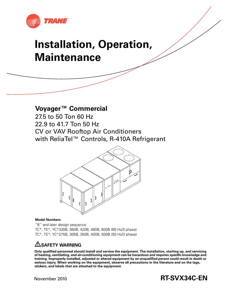 28 Trane Voyager Wiring Diagram