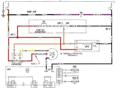 Trane Xe1000    Wiring       Diagram